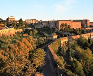 Picture of Medieval town Tuscany