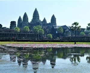 Angkor Wat complex South East Asia